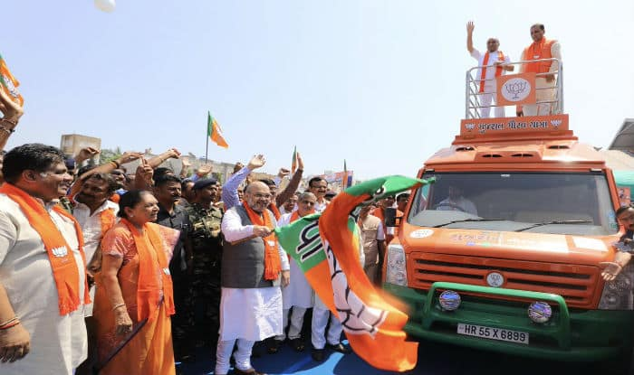 BJP launches poll campaigning in Gujarat from native place of Sardar Patel