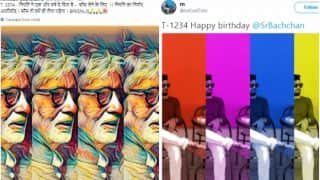 Amitabh Bachchan Fans Wish Him Happy 75th Birthday With Hilarious Selfies: See Best of Big B-Inspired Tweets & Pictures