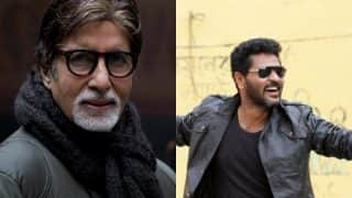 Amitabh Bachchan Calls Prabhudeva A Genius After He Choreographed A Song For The Superstar