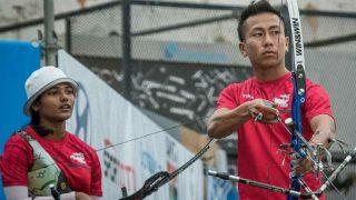 Indian Mixed Pair Jemson Ningthoujam and Ankita Bhakat Clinch Gold at World Archery Youth Championship
