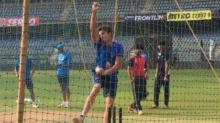 Arjun Tendulkar Bowls to Virat Kohli and Co. in the Nets at Wankhede
