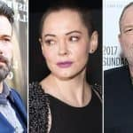 Rose McGowan's Twitter Account Suspended After She Speaks Out Against Harvey Weinstein And Ben Affleck