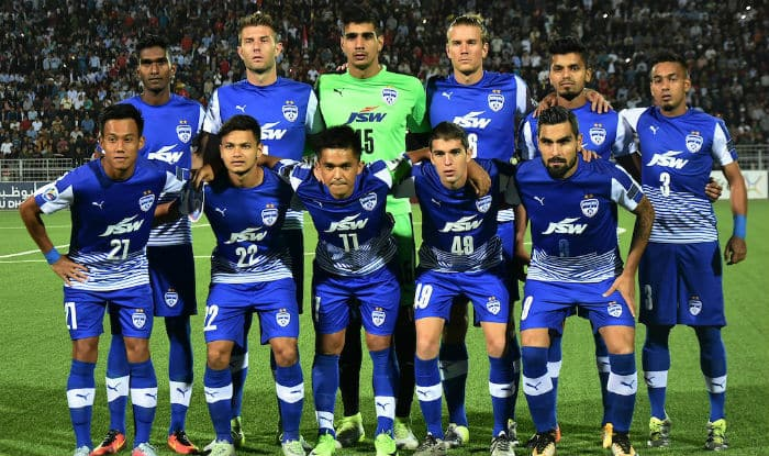 File picture of Bengaluru FC.