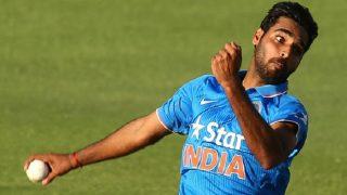 India vs Australia, 1st T20I: Bhuvneshwar Kumar's Nagging Line and Length Sends Back David Warner