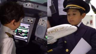 Video Of A 6-Year-Old Flying An Etihad Airways Plane Is Viral: This Kid Knows All The Controls Of An Aeroplane