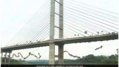 VIDEO: पुल से एक साथ नदी में कूदे ढाई सौ लोग, बनाया वर्ल्ड रिकॉर्ड