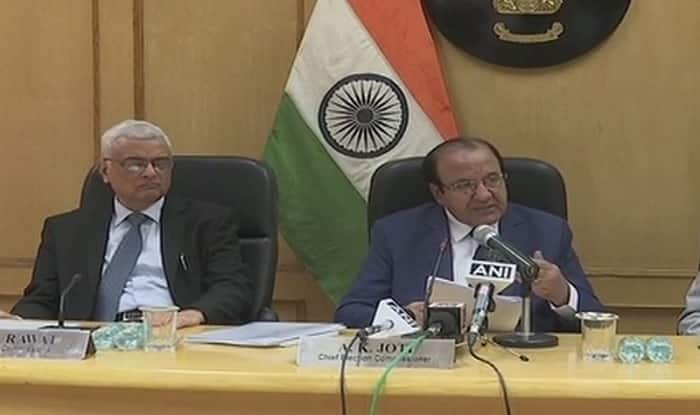 Chief Election Commissioner AK Joti announce HP election dates (ANI)