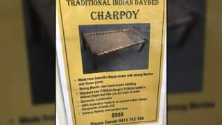 Is This The Costliest Cot? Charpoy Advertisement From Australia Is Going Viral Due To Its Price
