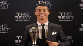 The Best FIFA Football Awards 2017: Cristiano Ronaldo Best Men's Player, Lieke Martens Best Women