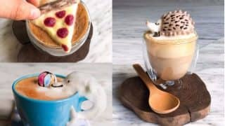 This 3D Latte Art On Coffee By A 17-Year Old Will Leave You Stunned