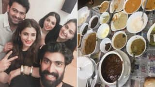 Prabhas, Anushka Shetty, Rana Daggubati, Raveena Tandon Show How To Party In Hyderabadi Style (View Pic)