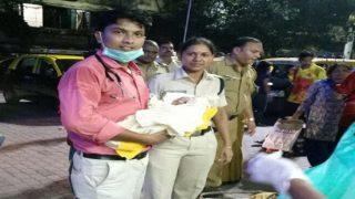 मुंबई: लोकल ट्रेन में महिला ने दिया बच्ची को जन्म,  'एक रुपये क्लिनिक' बना मसीहा