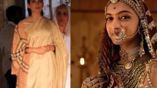 Kangana Ranaut's Insecurity About Deepika Padukone's Look In Padmavati The Real Reason For The Leaked Images From Manikarnika?