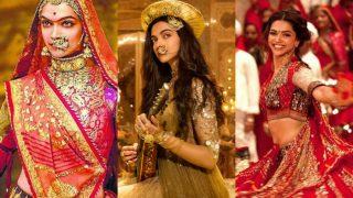 Did Padmavati Song Ghoomar Remind You Of Deepika Padukone- Ranveer Singh's Songs From Ram-Leela And Bajirao Mastani?