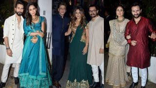 Deepika Padukone, Shah Rukh Khan, Kareena Kapoor, Saif Ali Khan, Aamir Khan Come Together To Celebrate Diwali - See Pics