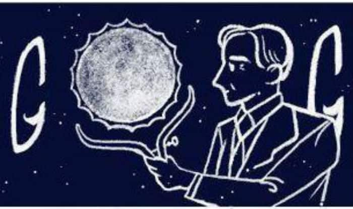 Google doodles on Subrahmanyan Chandrasekhar's 107th birth anniversary