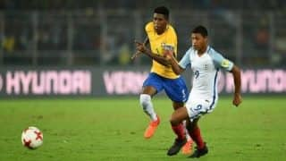 FIFA U-17 World Cup 2017: England Beat Brazil 3-1 to Enter Final, Rhian Brewster Scores Hat-trick