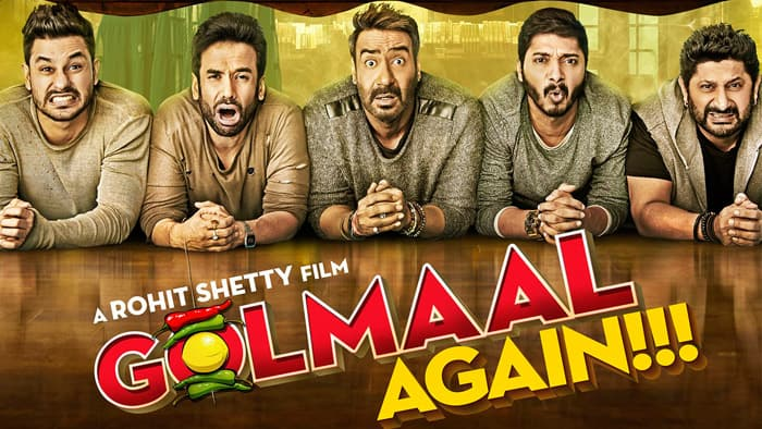 Golmaal Again 20th Day Box Office Collection
