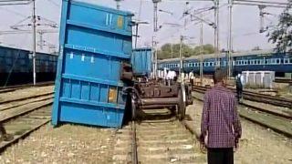 Uttar Pradesh: Two Coaches of Goods Train Derail on Delhi-Agra Route Near Mathura