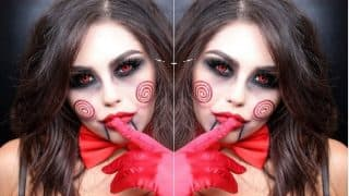 Halloween 2017 Makeup: This Sexy Jigsaw Makeup Will Give You a Glam Halloween Look!