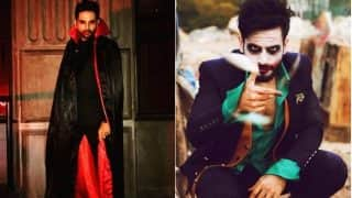 Ek Hazaaron Mein Meri Behna Hai Actor Karan Tacker and Thapki Pyar Ki Actor Ankit Bathla Sport Halloween 2017 Look! View Pics