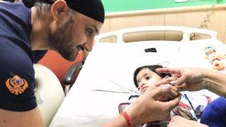4 साल की बच्ची के लिए हरभजन ने बढ़ाया मदद का हाथ, पहुंचे अस्पताल