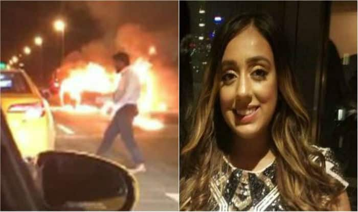 Woman left for dead in burning auto remembered as 'an angel'