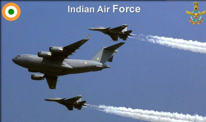 IAF conducted battalion level air drop as part of exercise 'Gagan Shakti' from Hindon airbase