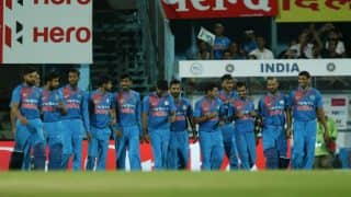 India vs Australia 2017, 3rd T20I: Series Ends at 1-1 After Last Match Called Off
