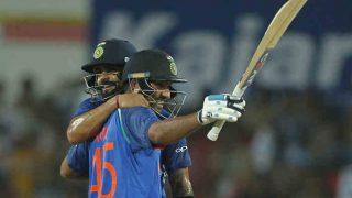 रोहित के तूफान में उड़ा ऑस्ट्रेलिया, पांचवां वनडे 7 विकेट से जीत भारत बना दुनिया की नंबर वन टीम