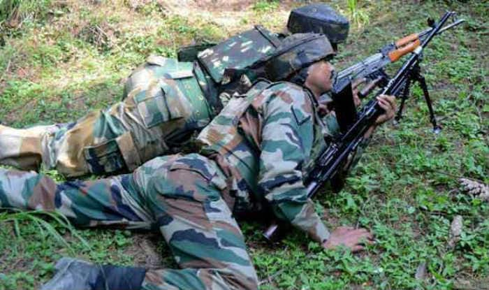 One terrorist killed, two jawans martyred in encounter in Pulwama