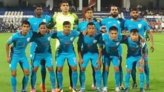 India Occupy 102nd Spot in The Latest FIFA Rankings