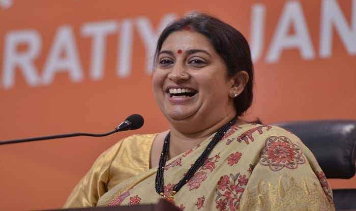 Protect Your Land: Smriti Irani Advises People After Robert Vadra Hints at Rallying For Congress