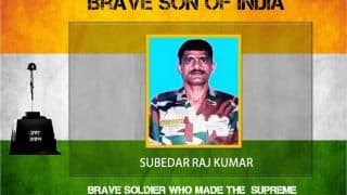 Budgam Encounter: Subedar Raj Kumar Retaliated Terrorists' Gunfire With Equal Force