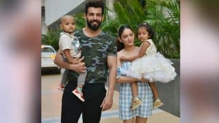 Jay Bhanushali, Mahhi Vij'sLatest Picture With Their Adopted Kids Is Too Cute To Miss