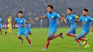 FIFA Under-17 World Cup 2017: Jeakson Singh Creates History, Becomes The First Ever Indian to Score in FIFA Tournament