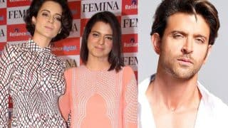 Kangana Ranaut's Sister Rangoli Chandel Slammed On Twitter For Dragging Hrithik Roshan's Kids In The Controversy