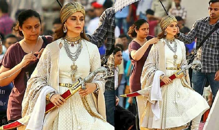 LEAKED: Kangana Ranaut Looks Fierce In The Latest Behind The Scenes Pics From Manikarnika: The Queen Of Jhansi