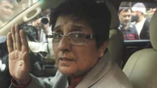 Kiran Bedi Jumps Over Fence at Puducherry Hospital as Officials Misplace Keys