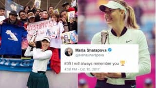 Maria Sharapova Wins at Tianjin Open, Her First Title Since Return From Drugs Ban: See Pictures of Russian Tennis Ace with Winner's Trophy