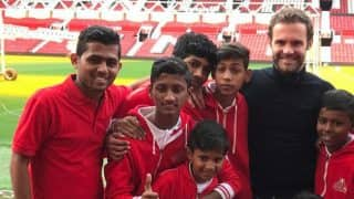 Manchester United Star Juan Mata Invites Mumbai Youngsters to Old Trafford, See Pics