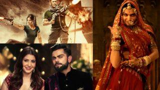 Anushka Sharma - Virat Kohli's Marriage Rumours; Tiger Zinda Hai, Saaho, Veere Di Wedding New Posters; Padmavati, Ittefaq First Songs: Bollywood Week In Review