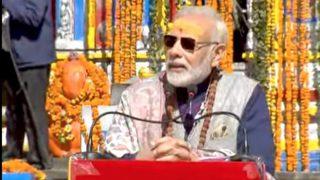 प्रधानमंत्री नरेंद्र मोदी गुरुवार से दो दिवसीय मसूरी दौरे पर