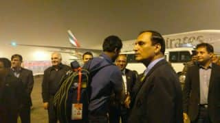 Sri Lankan Cricket Team Lands in Lahore After Eight Long Years