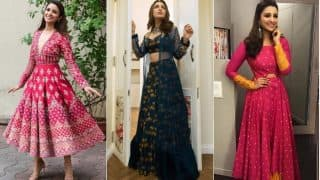 Parineeti Chopra Diwali 2017 Style Files: 5 Festive Looks of Golmaal 4 Actress that Will Inspire You to Up Your Fashion Game this Deepavali!