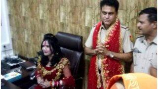 Radhe Maa VIP Treatment: Delhi BJP Demands Vivek Vihar SHO's Suspension
