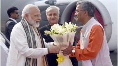 केदारनाथ पहुंचे PM मोदी, केदारपुरी प्रोजेक्ट की करेंगे शुरुआत, जनसभा को भी संबोधित करेंगे