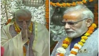 केदारनाथ मंदिर में PM मोदी की विशेष पूजा, ललाट पर लगाया भोलेनाथ का तिलक