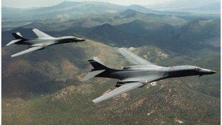 ट्रंप का शक्तिप्रदर्शन! कोरियाई क्षेत्र के ऊपर उड़े अमेरिकी बॉम्बर