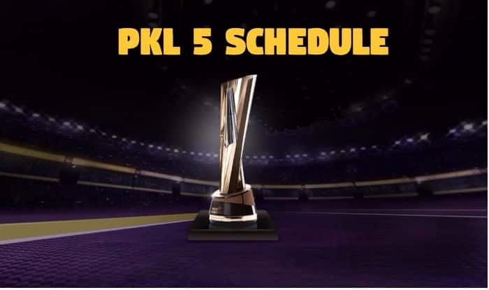 Pro Kabaddi League 2017 Schedule